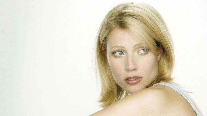 Gwyneth Paltrow Looking Side At Robert Fleischauer Photoshoot